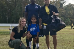 Ava with Blue Storm Coaches